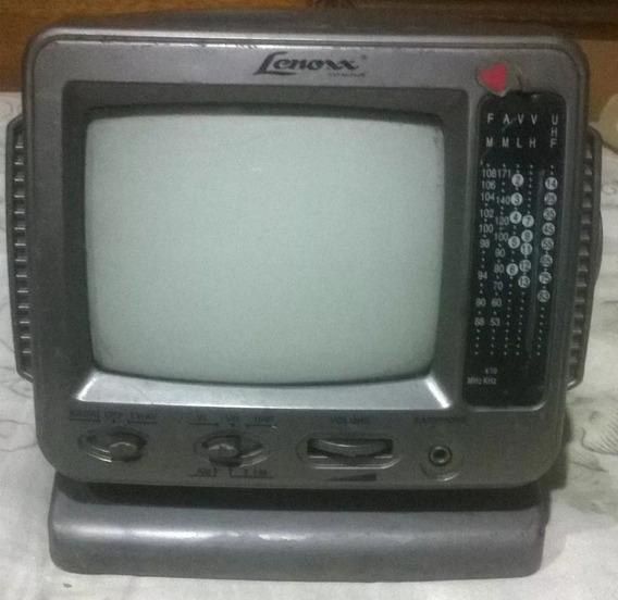 Tv Lenoxx De 5 Polegada Portátil Preto E Branco Mod: Tv-605