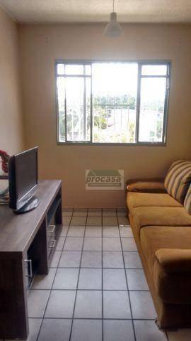 Apartamento Com 3 Dormitórios Para Alugar, 65 M² Por R$ 1.600/mês - Japiim - Manaus/am - Ap2964
