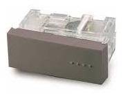 Modulo Combinacion Tecla Simple Gris Bauhaus Cambre 6111