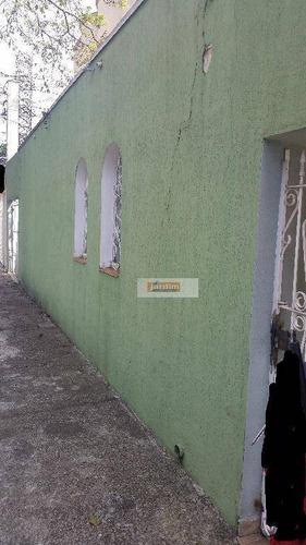 Terreno Residencial À Venda, Campestre, Santo André. - Te0471