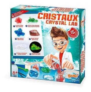 Juguete Didáctico De Ciencia Buki Laboratorio De Cristales C
