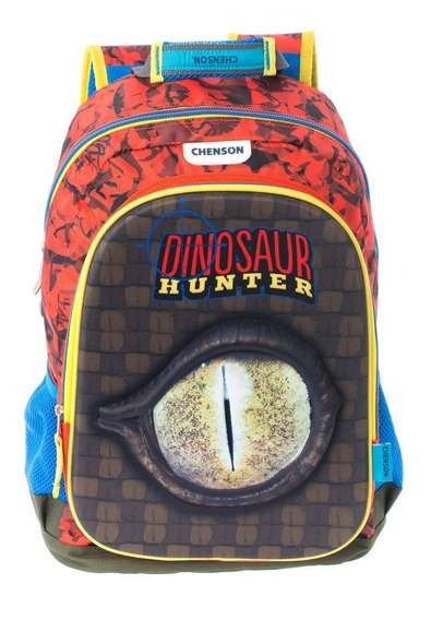 Mochilas Chenson Dinosaur Hunter Primaria Escolares 62650