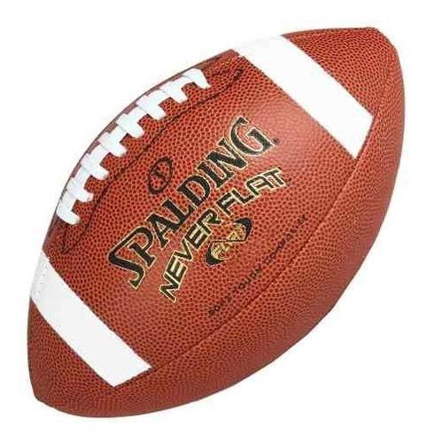 Pelota De Fútbol Americano Spalding Neverflat Nfl Soft Touch