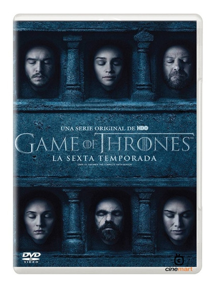 Juego De Tronos Game Of Thrones Sexta Temporada 6 Serie Dvd