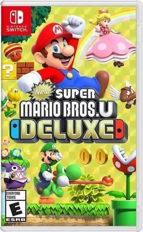 Super Mario Bros U Deluxe - Nintendo Switch - Mídia Física