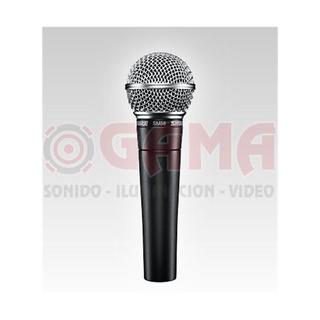 Microfono Dinamico Vocal Cardioide Unidireccional Sm58 Sm58l