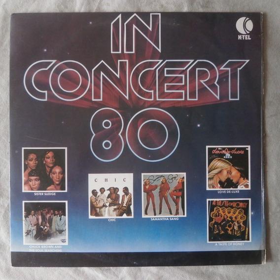 Lp In Concert 80, Disco De Vinil Coletãnea Internacional