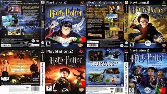 Coleção Harry Potter - Playstation 2 - Patch - Em Português