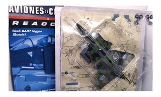 Aviones De Combate Nº 13 Saab Aj37 Viggen (swe)