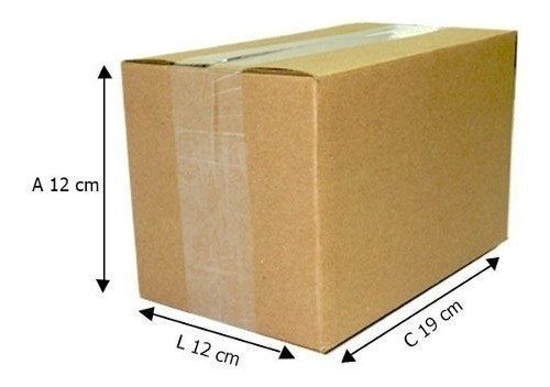 150 Caixas De Papelão 19x12x12 Cm Envios