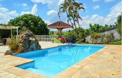 Chácara Com 3 Dormitórios À Venda, 1420 M² Por R$ 600.000 - Portão - Atibaia/sp - Ch0177
