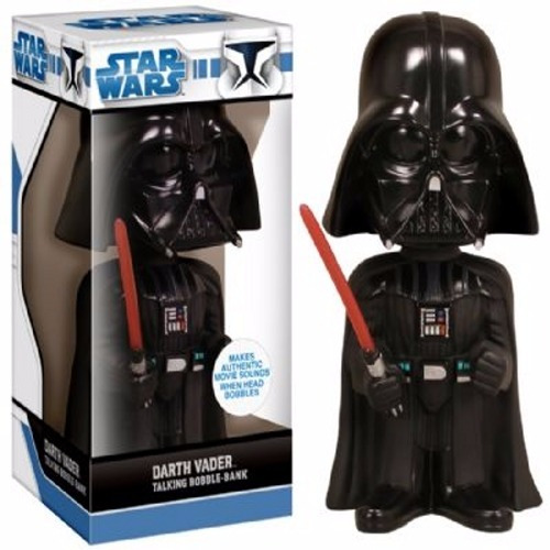 Funko Star Wars Darth Vader Alcancía Con Sonido En Stock