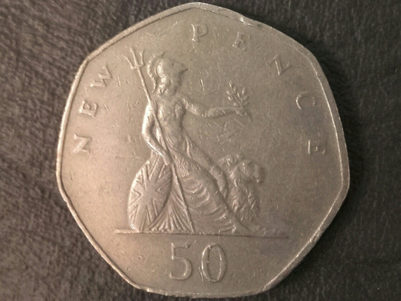 50 New Pence (1976)