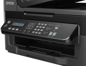 Impressora Epson Multifuncional Tanque De Tinta Ecotank L555