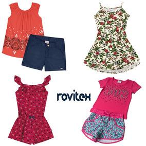 Kit Lote 04 Roupas Infantil Menina Conjuntos/vestido 04 Anos