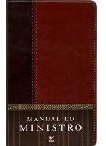 Manual Do Ministro Capa Luxo Marrom