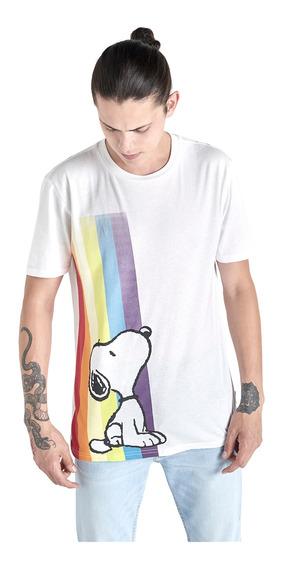 Playera Licencia Snoopy Pride De Hombre C&a 1056116