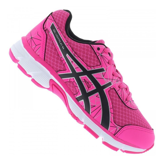 Asics Zapatillas Nena Gel Light Play 4 A Gs Rosa
