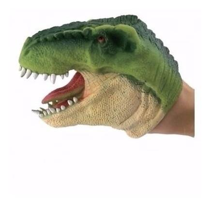 Dinossauro Dino Fantoche Dtc Verde