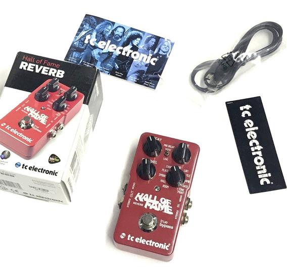 Pedal Reverb Hall Of Fame Tc Electronic Usad0 - Fotos Reais!