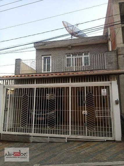 Casa Com 2 Dormitórios Para Alugar, 75 M² Por R$ 1.200,00/mês - Cidade Líder - São Paulo/sp - Ca0175