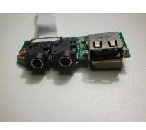 Placa De Audio Usb Som Notebook Microboard Nb123x