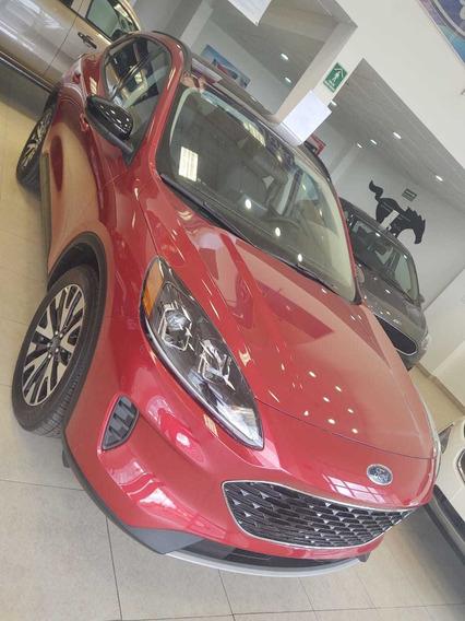 Ford Escape Híbrida Roja 2020