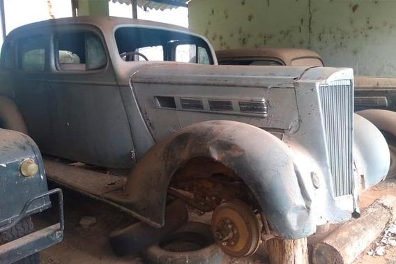 Packard 1937 - 4 Portas - Antigo Original - Pra Restaurar