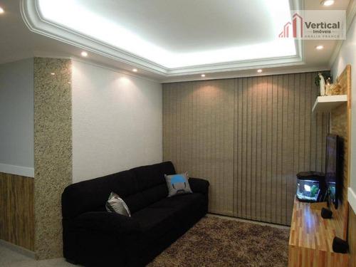 Apartamento À Venda, 89 M² Por R$ 630.000,00 - Água Rasa - São Paulo/sp - Ap5301