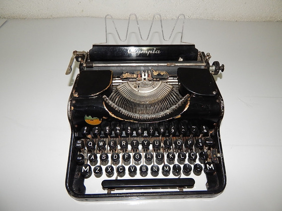Maquina Escrever Datilografia Olympia 1938 Made In Germany