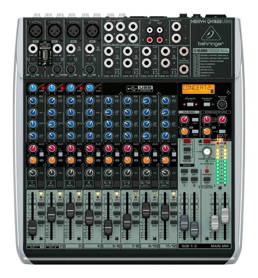 Mixer Behringer Xenyx Qx1622 Usb - 12x S/juros Frete Grátis