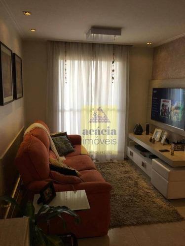 Imagem 1 de 19 de Apartamento Com 3 Dormitórios À Venda Por R$ 550.000,00 - Parque São Domingos - São Paulo/sp - Ap2737