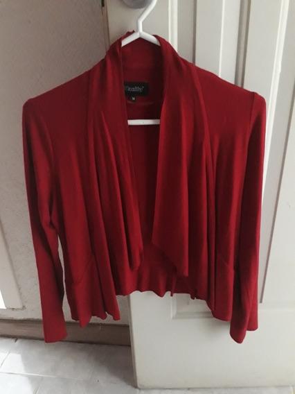 Suetér Cardigan Sweater Rojo Suetér Mujer