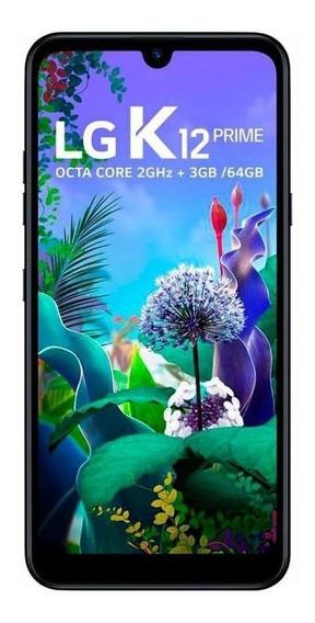 LG K12 Prime Dual SIM 64 GB Aurora black 3 GB RAM