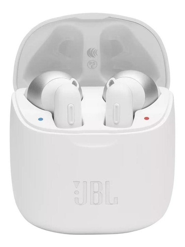 Imagen 1 de 5 de Auriculares in-ear inalámbricos JBL Tune 220 TWS blanco