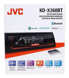 Autoestereo Jvc Kd-x260bt Usb Aux Bluetooth Spotify Pandora