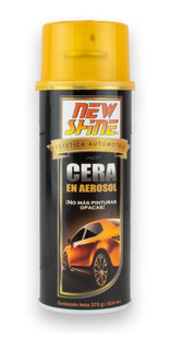 Cera Para Auto En Aerosol New Shine 414 Ml