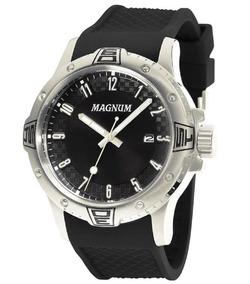 Relógio Magnum Analógico Ma34414t Preto