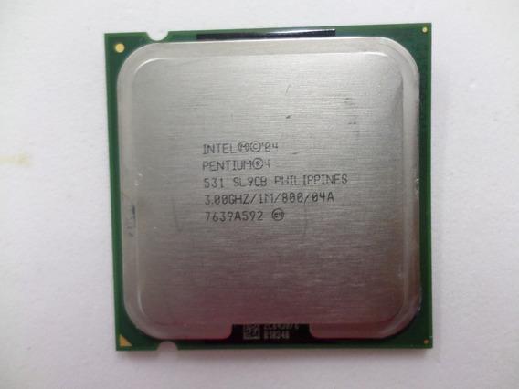 Processador Intel Pentium 4 531 3.0ghz Lga 775 Ht 1mb 800fsb
