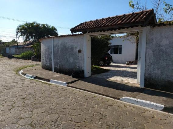 Casa Em Centro, Peruíbe/sp De 125m² 3 Quartos À Venda Por R$ 200.000,00 - Ca435396