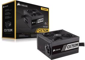 Fonte Corsair Cx750m Semi Modular 80 Plus Pc Gamer
