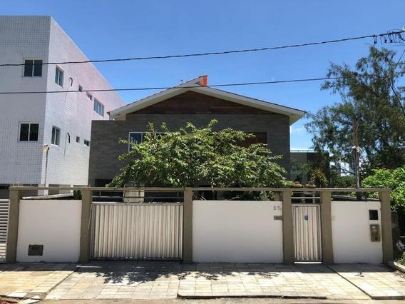 Casa Em Altiplano Cabo Branco, João Pessoa/pb De 0m² 5 Quartos À Venda Por R$ 700.000,00 - Ca271934