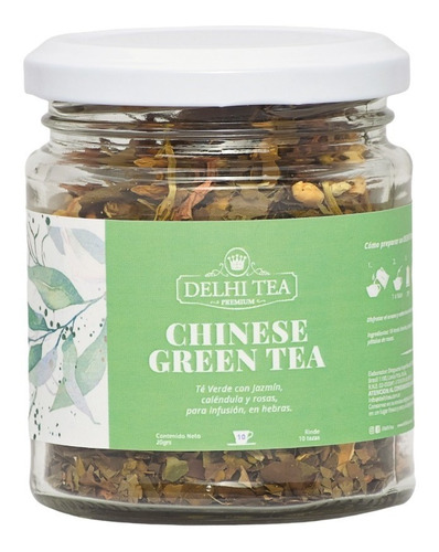 Imagen 1 de 1 de Delhi Tea Hebras Frasco Te Blend Premium