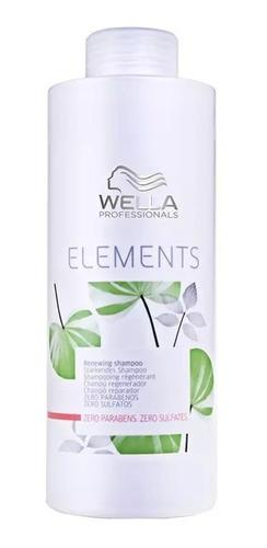 Wella Shampoo Elements Renewing Sem Sulfato 1000ml