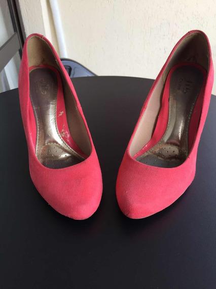 Sapato Anabela Rosa Beirario