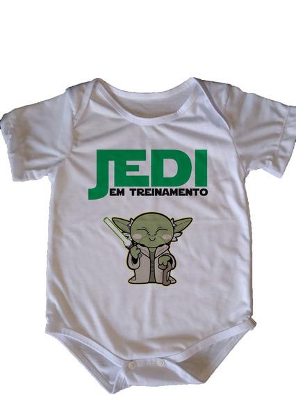 Body Infantil Star Wars - Jedi Em Treinamento