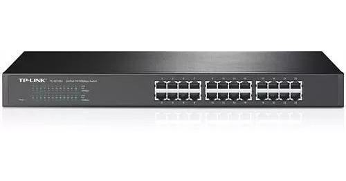 Switch 10/100 Tp Link Usado 100% Funcionando