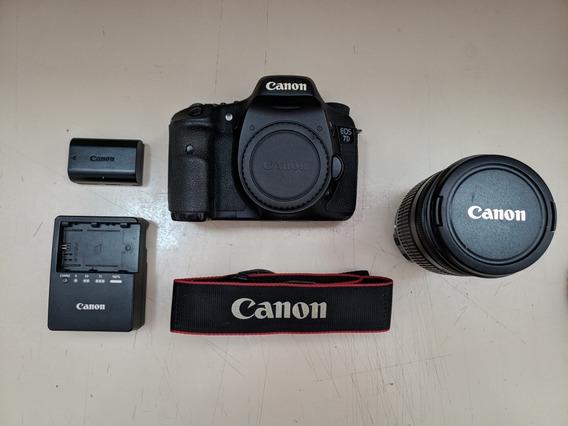 Canon Eos 7d + Lente Canon 18-200 3.5-5.6