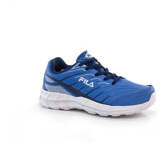 Tênis Fila Axis Azul - Infantil - Way Tenis