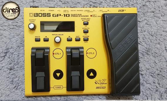 Pedaleira Boss Gp10 Com Midi Suporta Gk3 Loja Dino